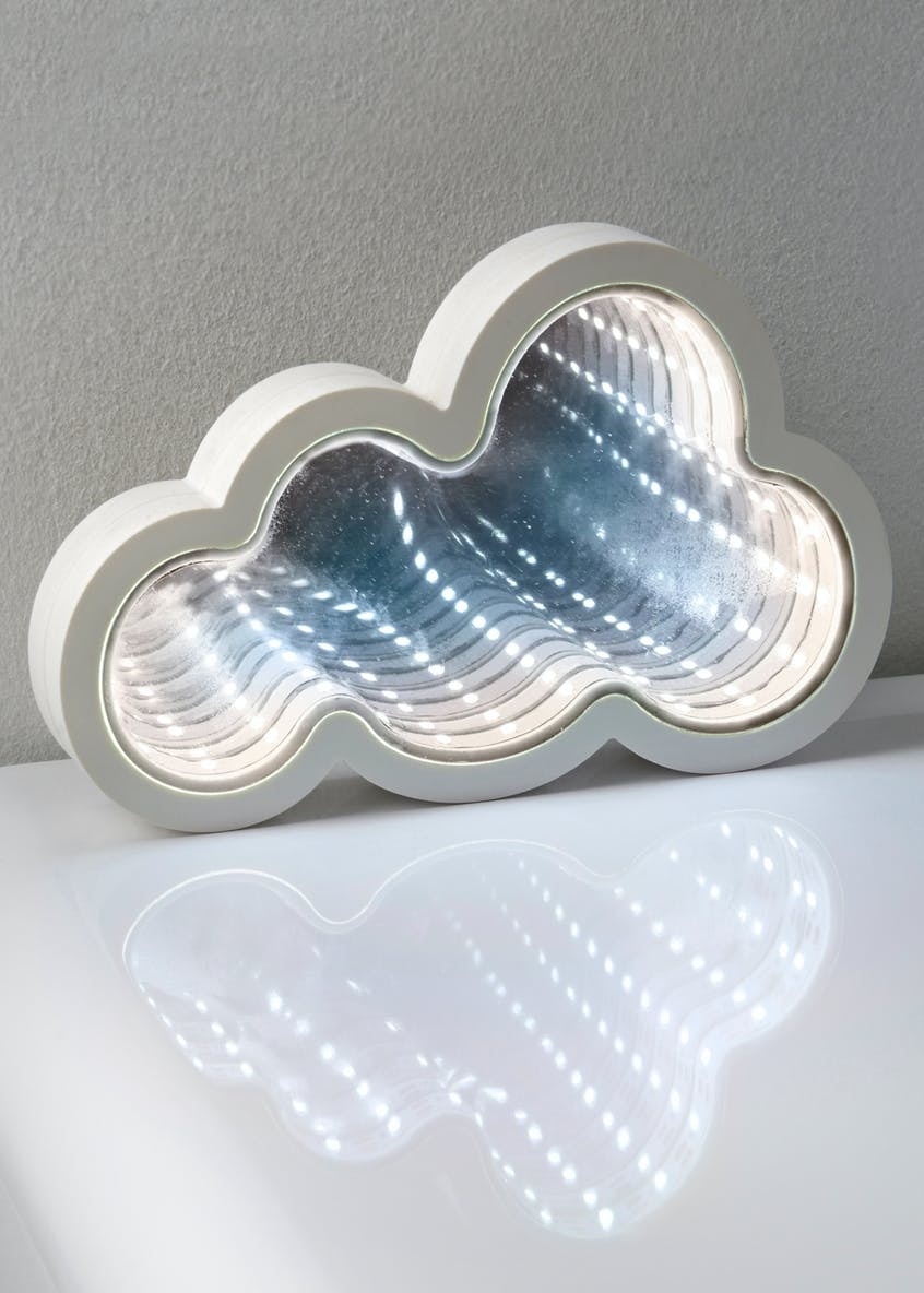 LED Cloud Infinity Mirror (13cm x 13cm)