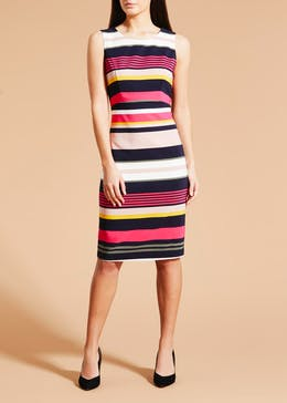Soon Stripe Shift Dress