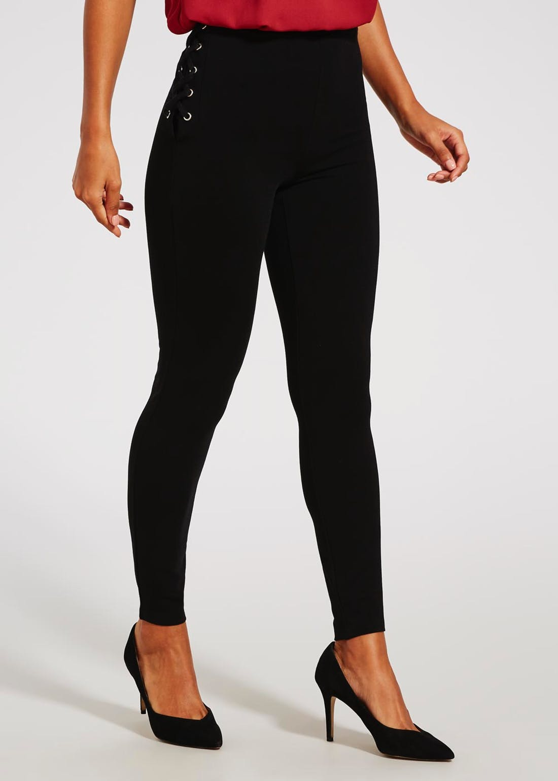 Body Shaper Lattice Leggings