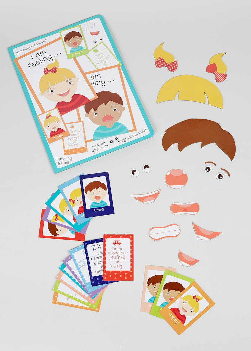 Emotions Learning Game (30cm x 27cm x 1cm)