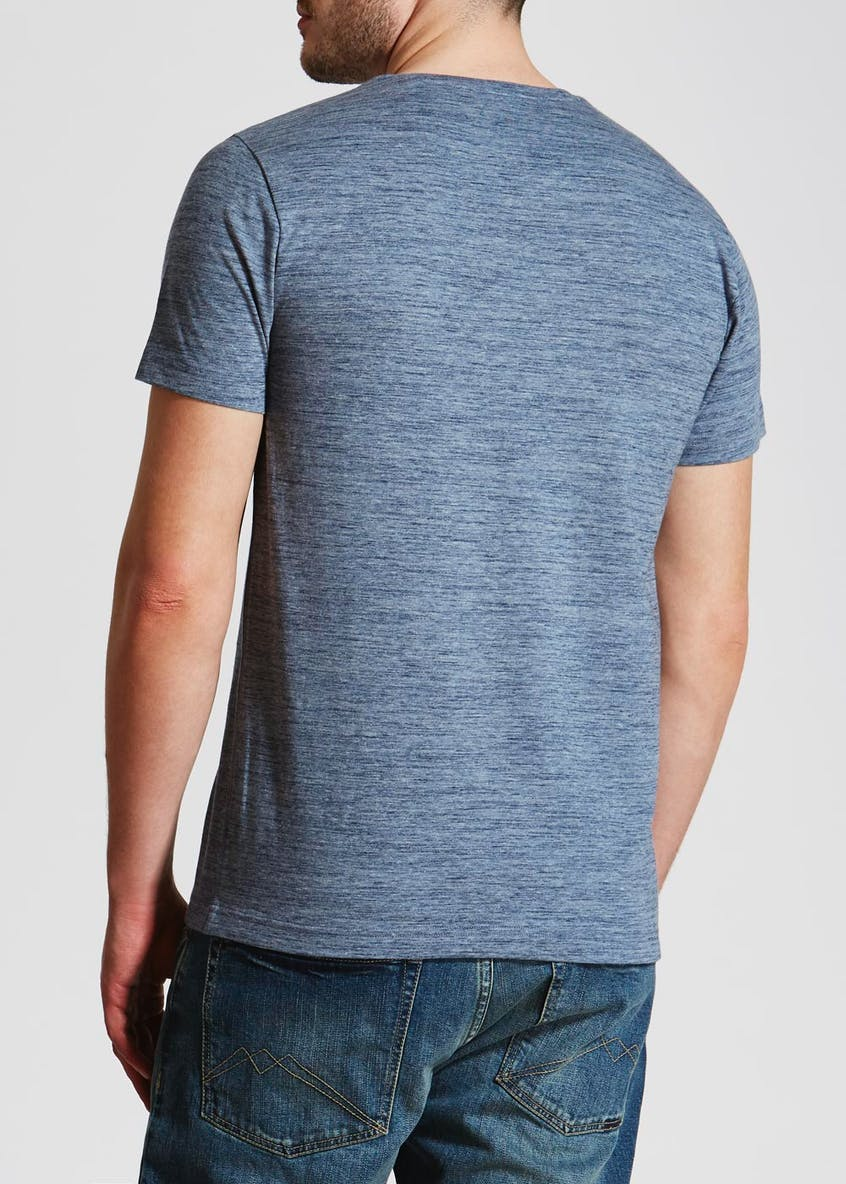 Slub Textured Short Sleeve T-Shirt