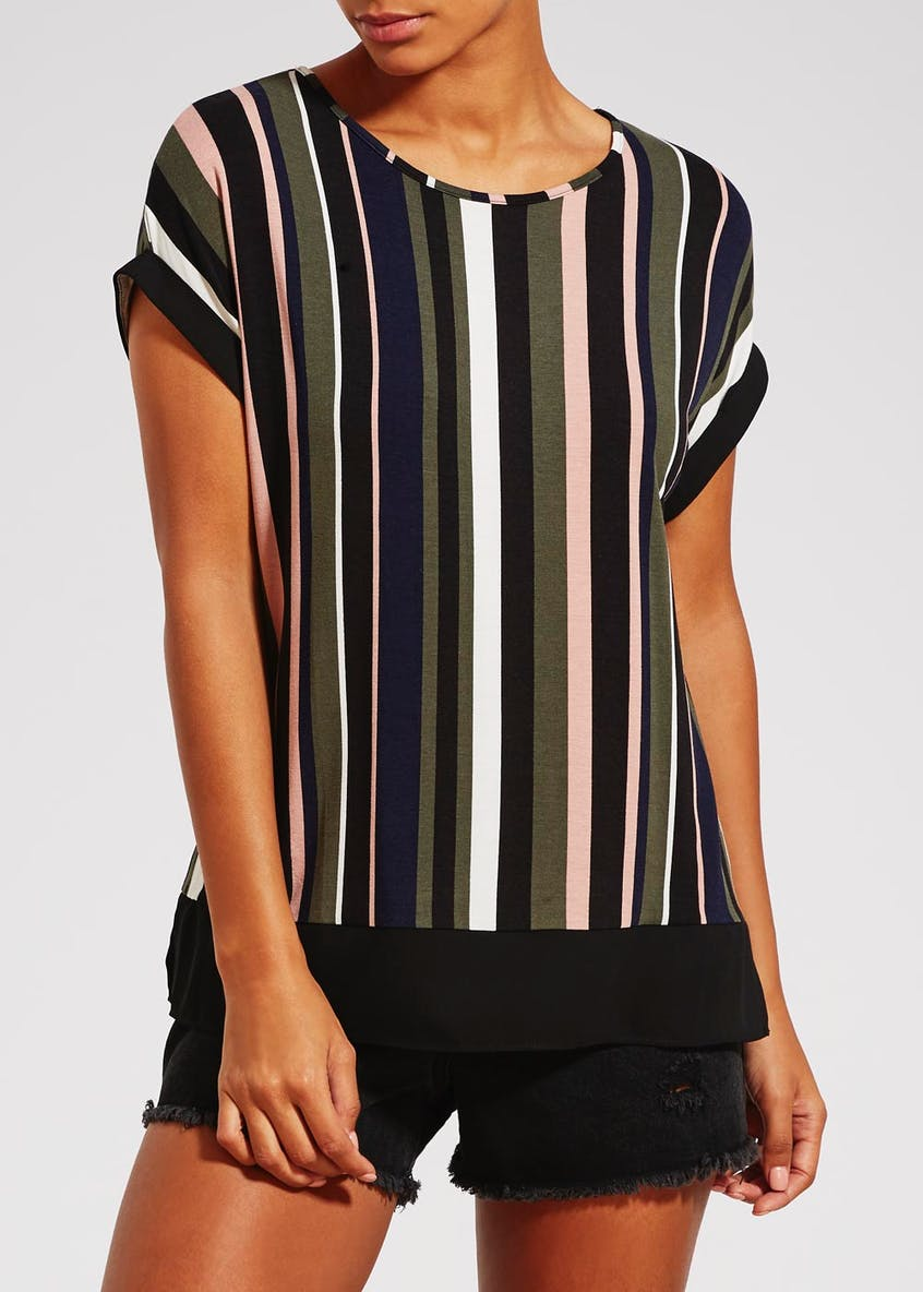 Stripe Jersey Top