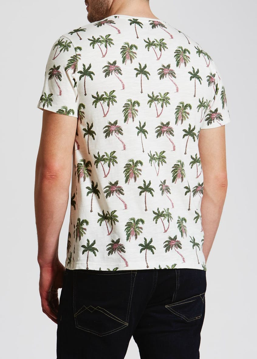 Palm Tree Print T-Shirt