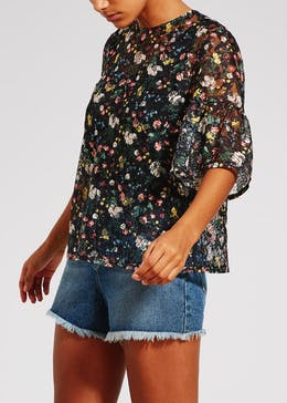 Floral Lace Box Top