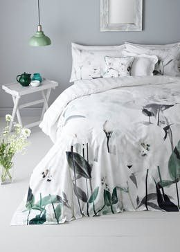100% Cotton Digital Print Floral Duvet Cover