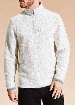 Lincoln Zip Sweatshirt