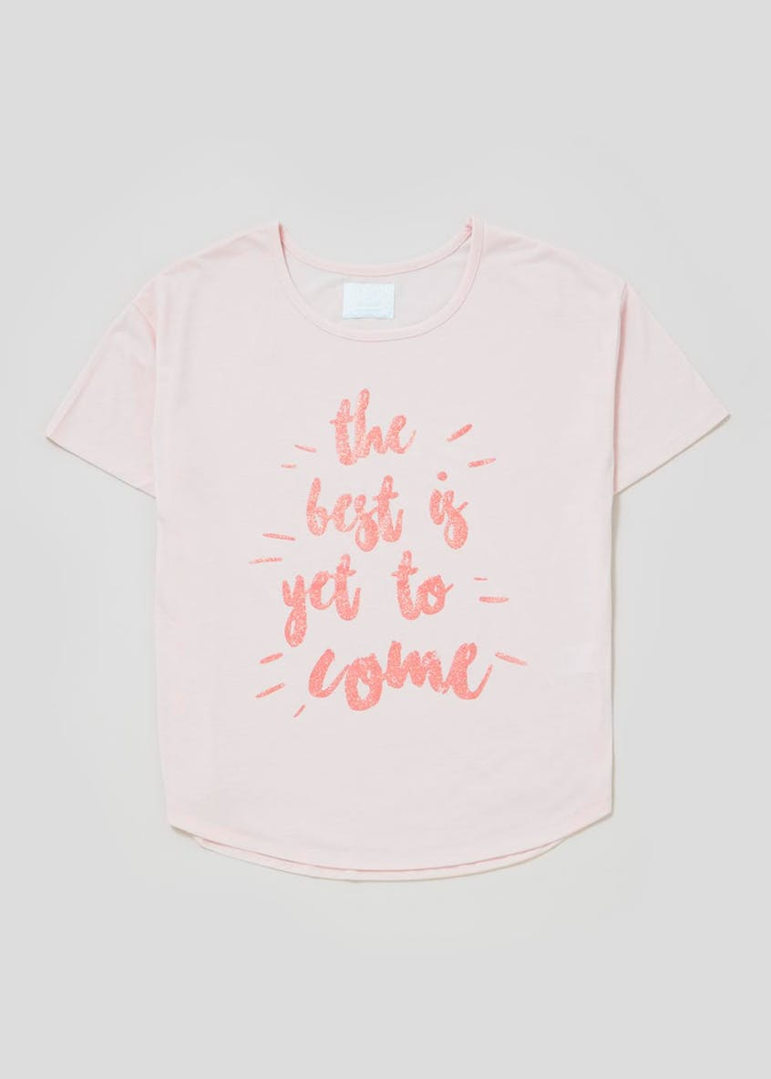 Mix & Match Slogan Pyjama Top