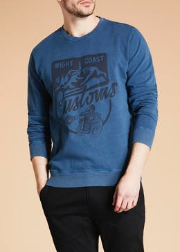 Morley Wight Coast Slogan Sweatshirt