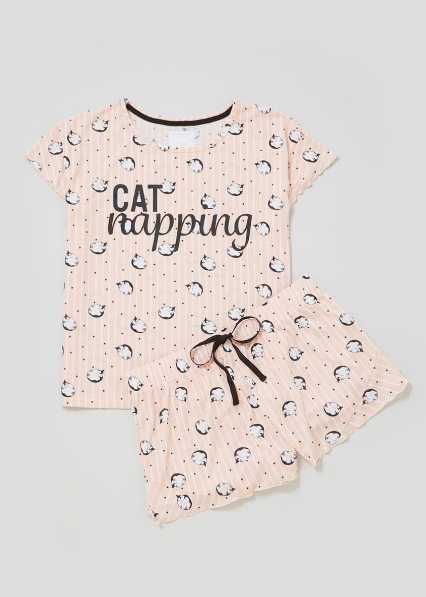 Cat Short Pyjama Set