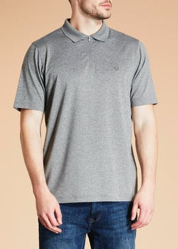 Lincoln Active Zip Polo Shirt
