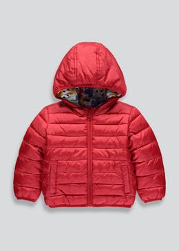 Girls Quilted Reversible Coat (6mths-6yrs)