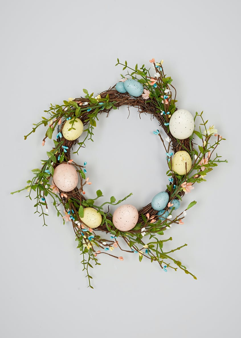 Easter Wreath Decoration (23cm)
