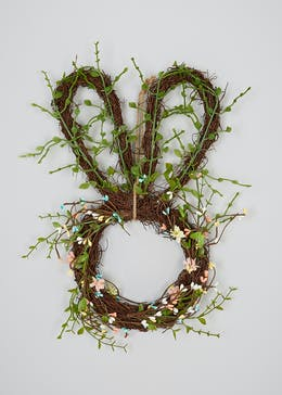 Easter Bunny Wreath Decoration