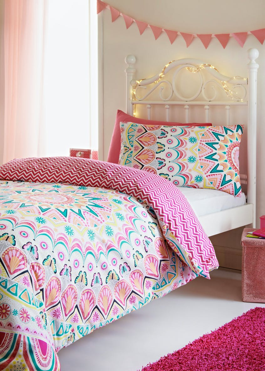 Kids 100% Cotton Mandala Duvet Cover