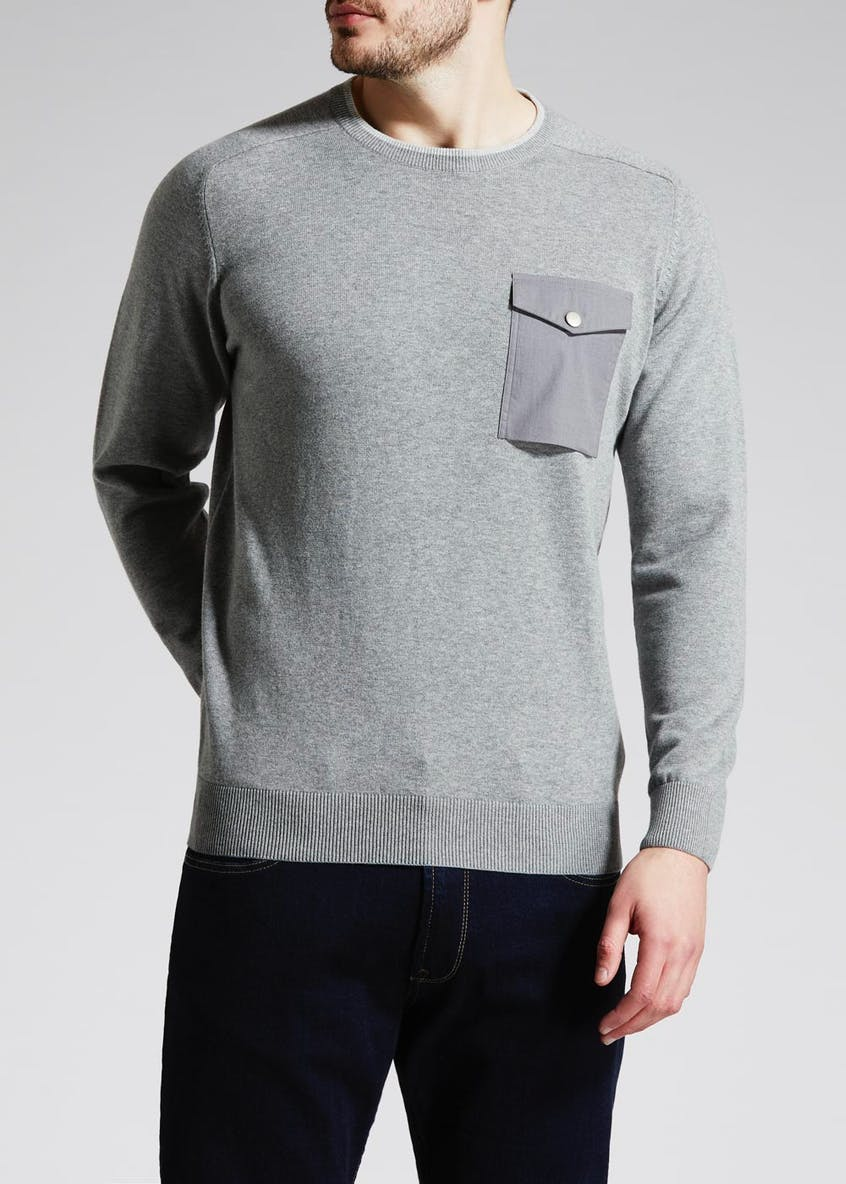 Chest Pocket Jumper