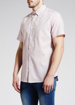 Short Sleeve Dobby Shirt