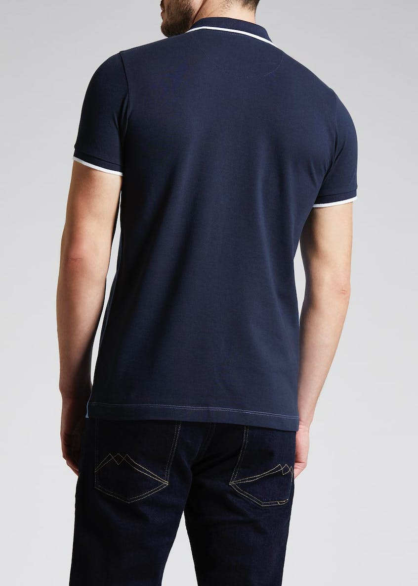Spliced Polo Shirt