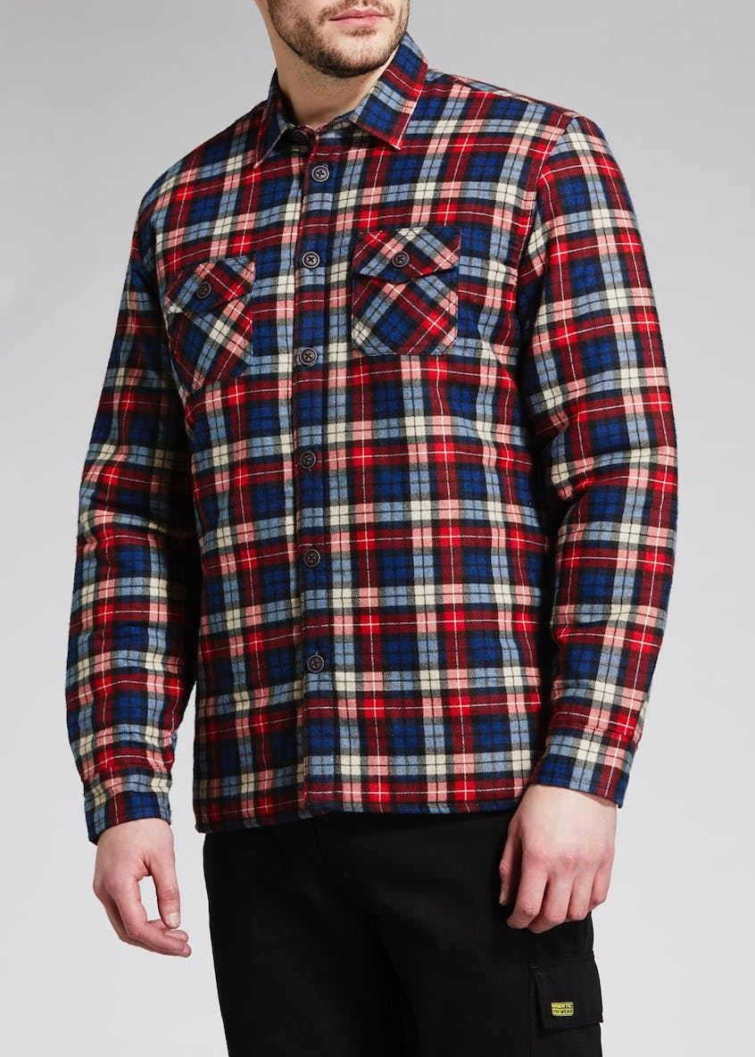 Quilted Check Work Shirt