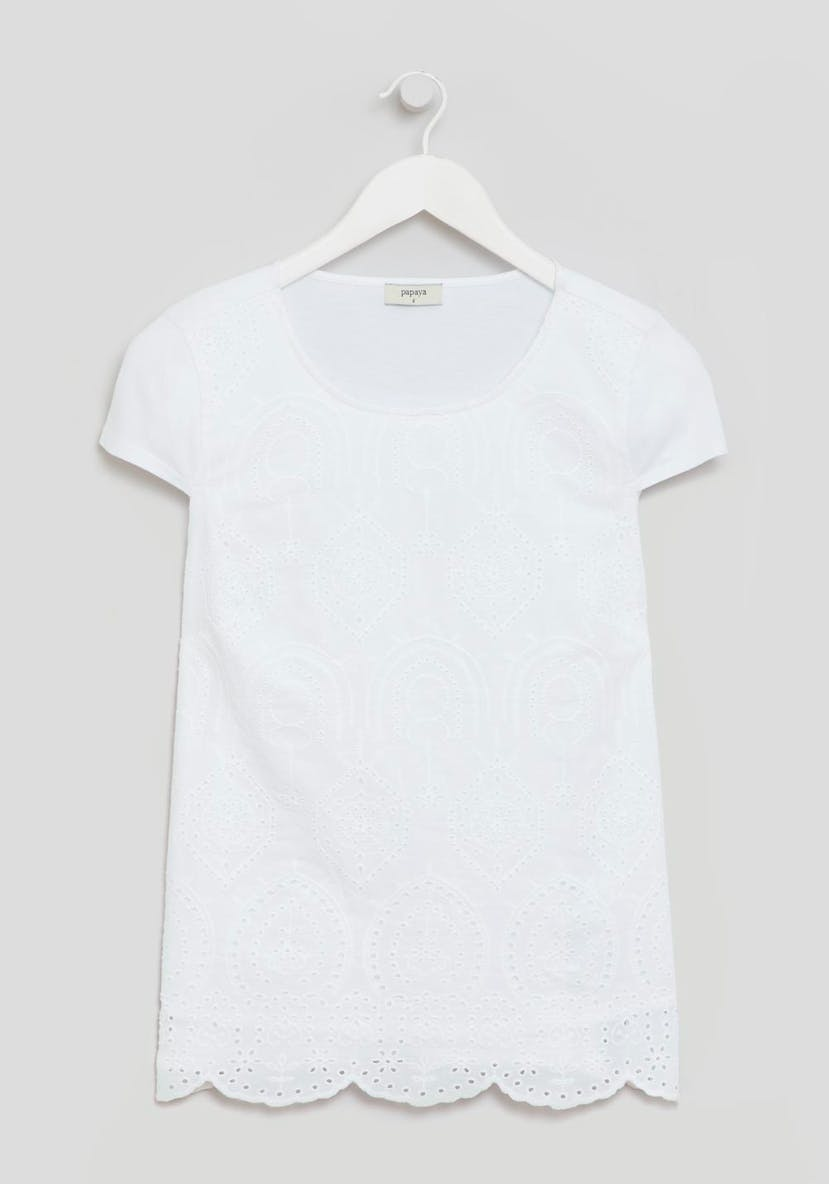 Schiffley Lace T-Shirt