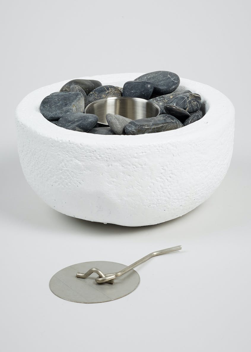 Outdoor Resin Oil Burner (25cm x 25cm x 13cm)