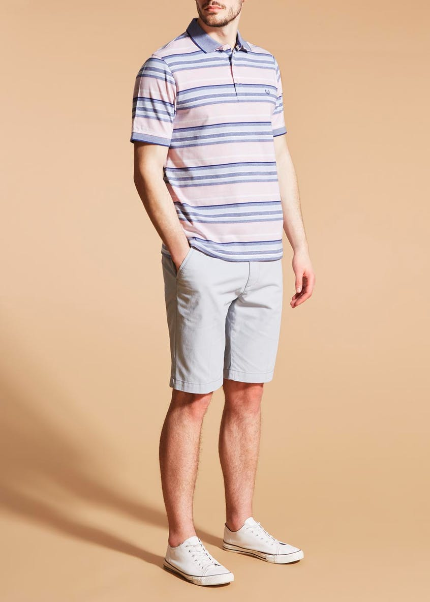 Lincoln Stripe Polo Shirt