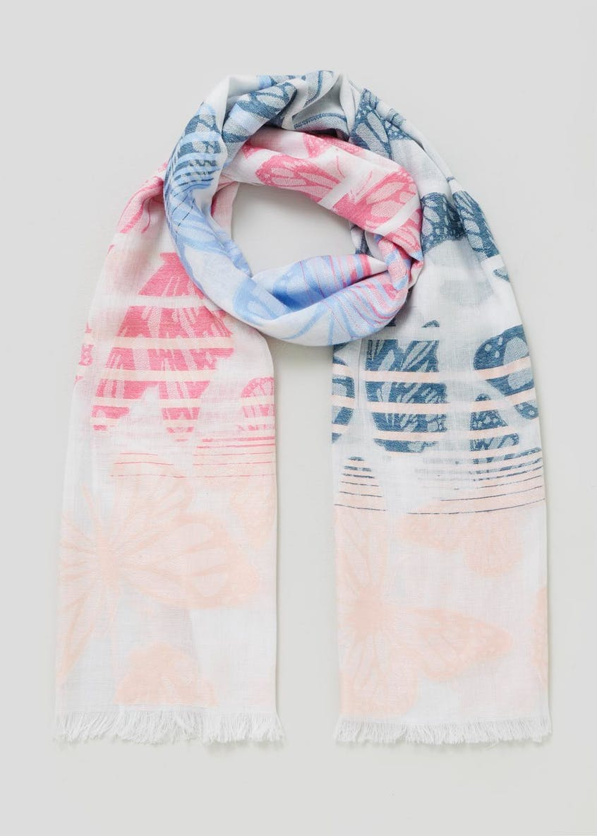 Ombre Butterfly Scarf
