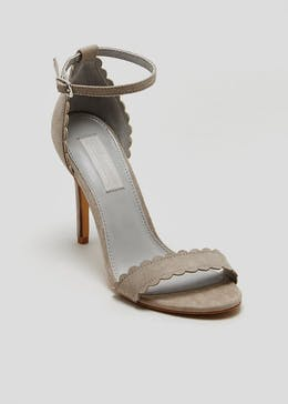 FWM Scalloped Barely There Heels