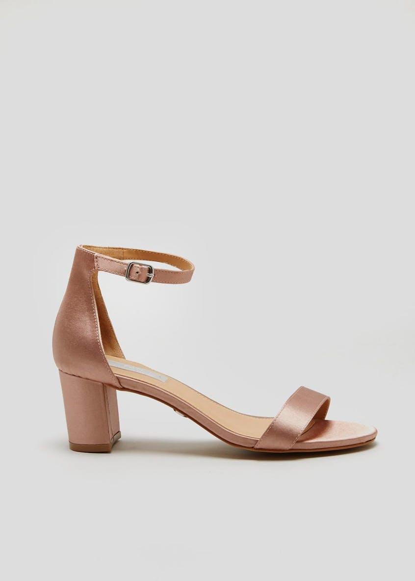 FWM Block Heel Strappy Sandals
