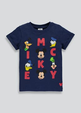 Kids Mickey Mouse T-Shirt (3mths-5yrs)