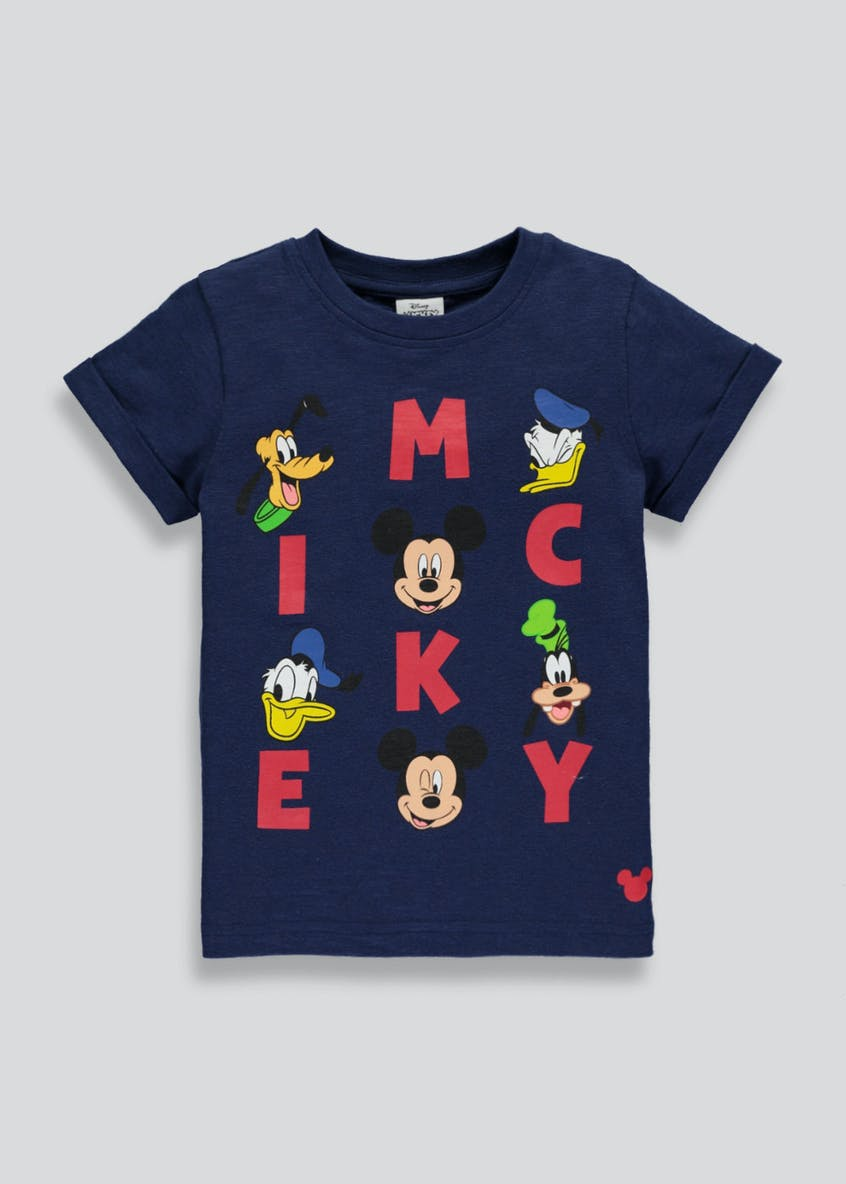 Kids Disney Mickey Mouse T-Shirt (3mths-5yrs)