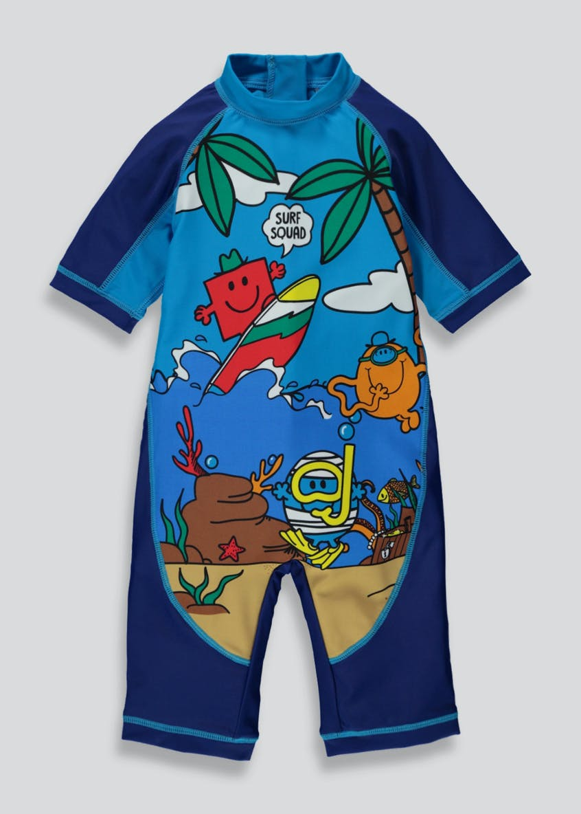 Kids Mr Men Surf Suit (12mths-6yrs)
