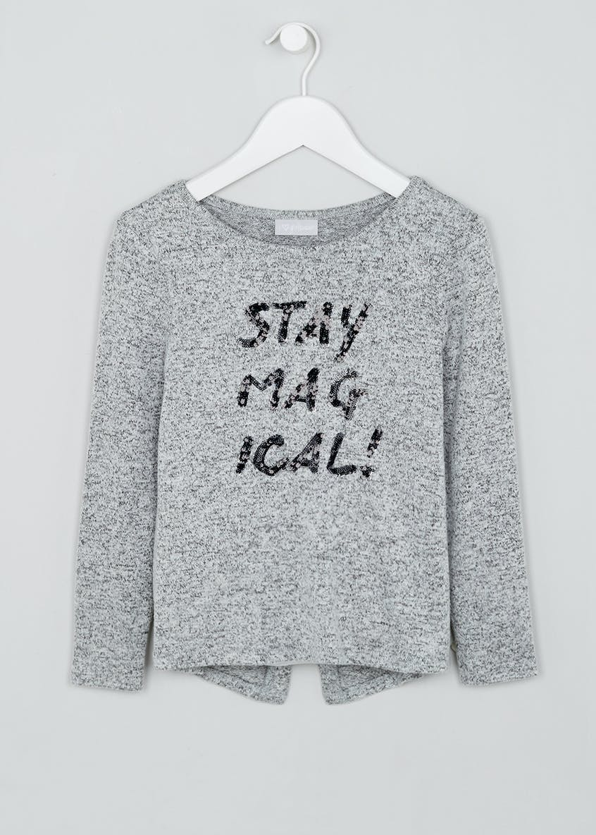 Girls Stay Magical Snit Top (4-13yrs)