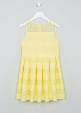 Girls Mesh Stripe Dress (4-13yrs)