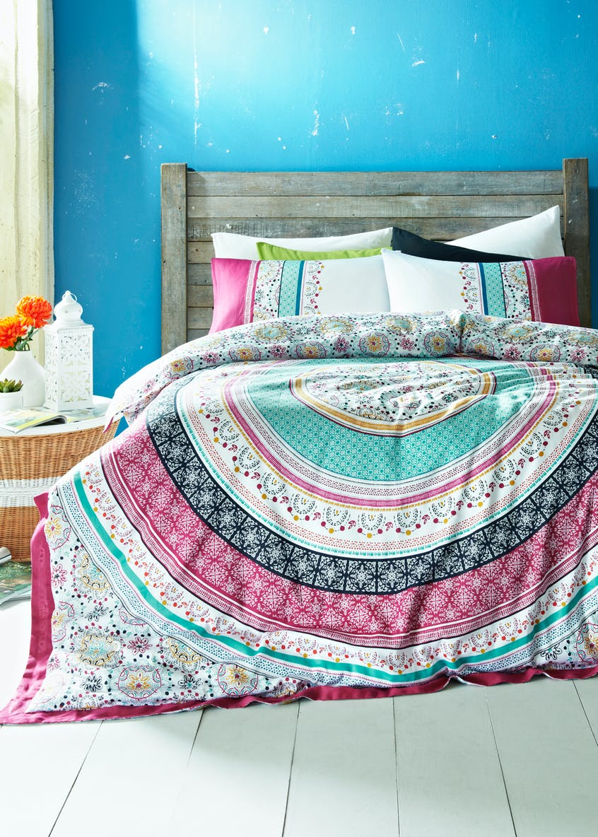 100%  Cotton Mandala Duvet Cover