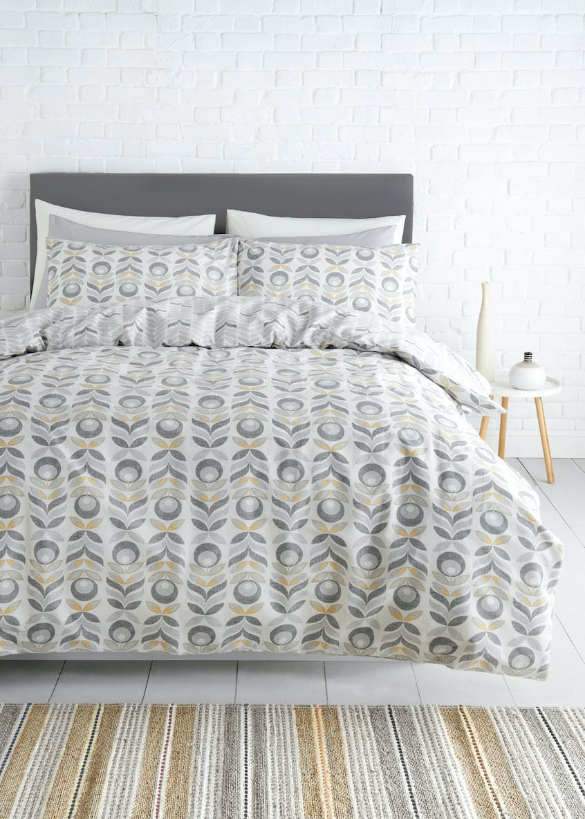 2 Pack Cotton Rich Printed Duvet Covers