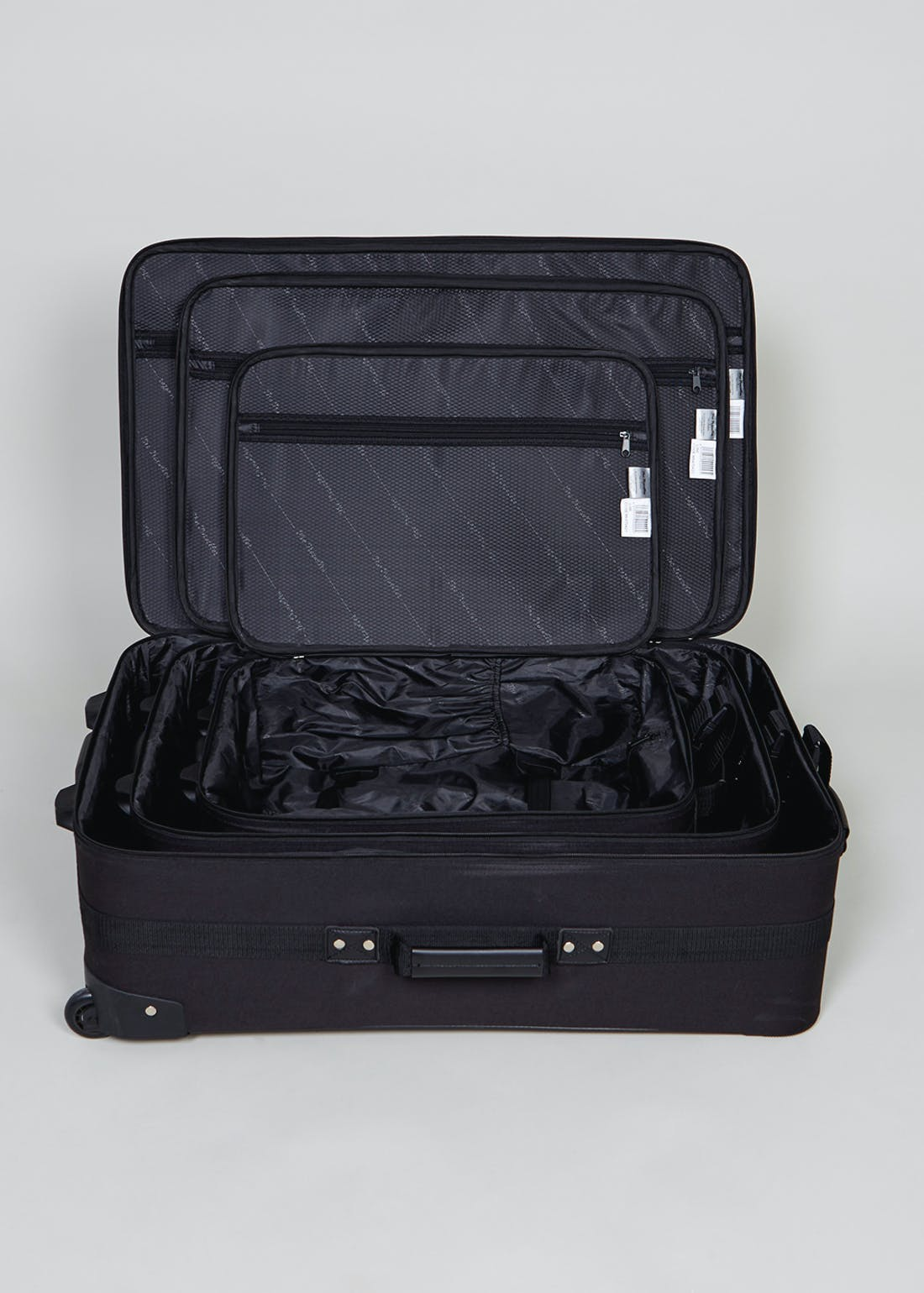 Traveller 2 Wheel Soft Sided Suitcase