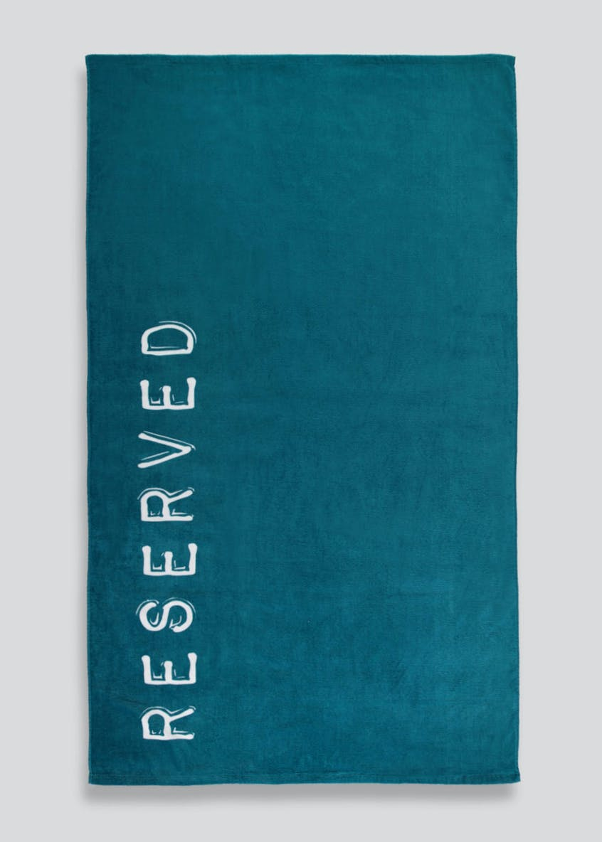 Reserved Beach Towel (180cm x 100cm)