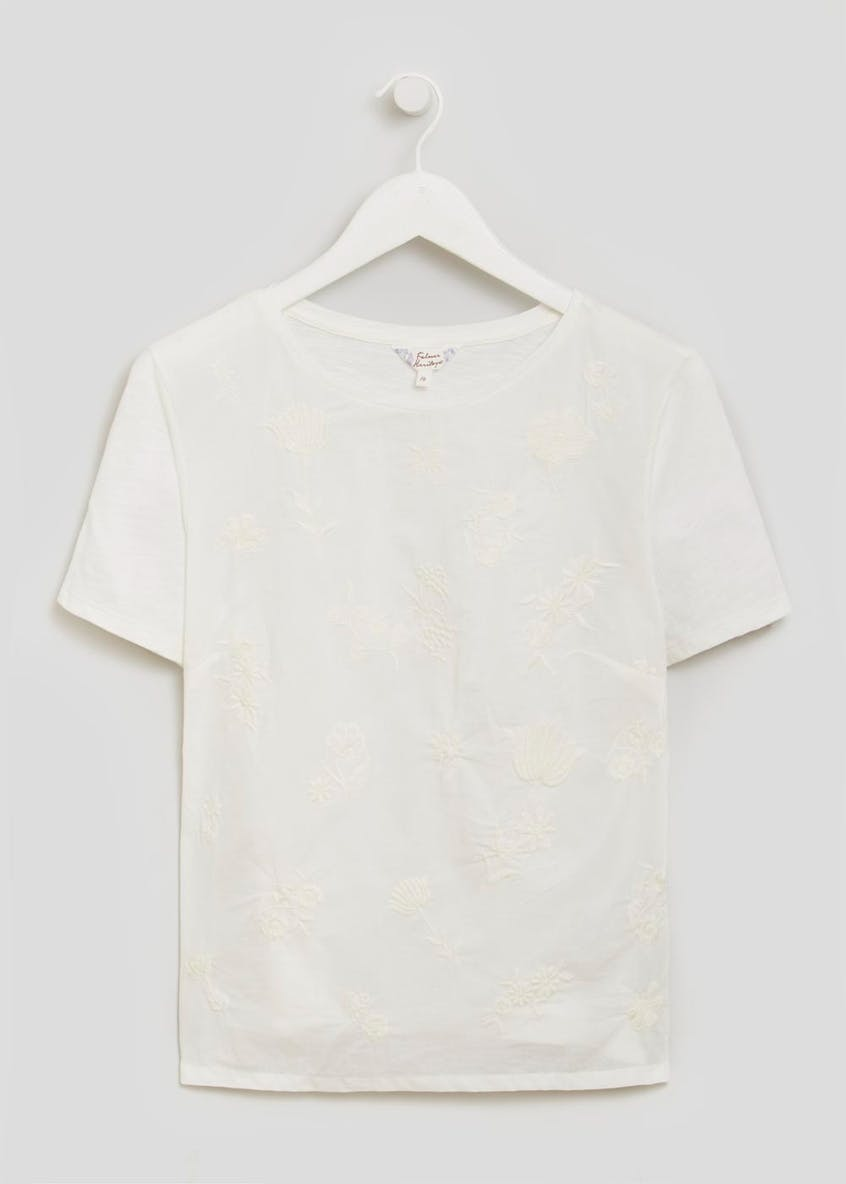 Falmer Floral Embroidered T-Shirt
