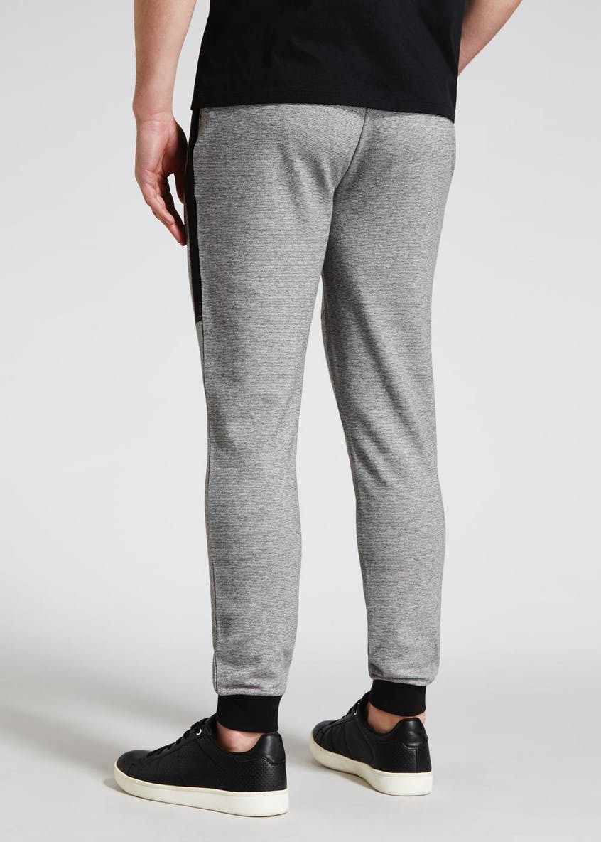 Cuffed Panel Jogging Bottoms