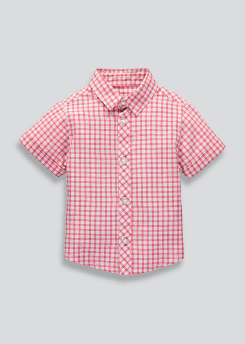 Boys Gingham Check Shirt (9mths-6yrs)