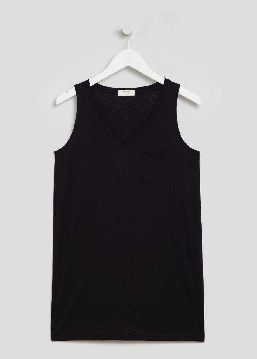 Longline Pocket Vest Top