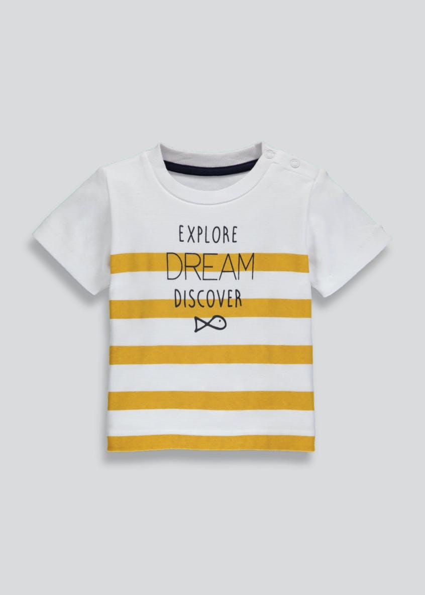 Boys Stripe T-Shirt (Newborn-18mths)