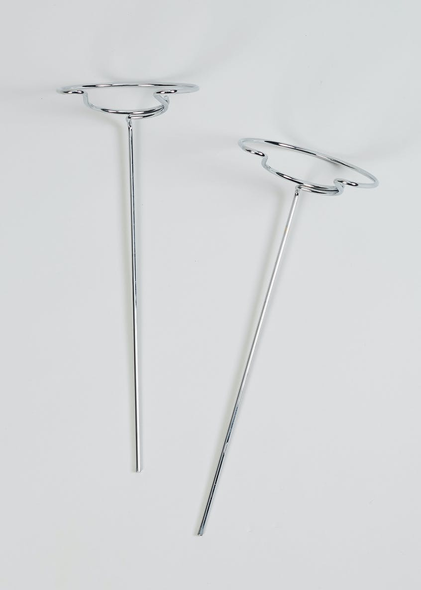 2 Pack Wine Glass Stakes (32cm)