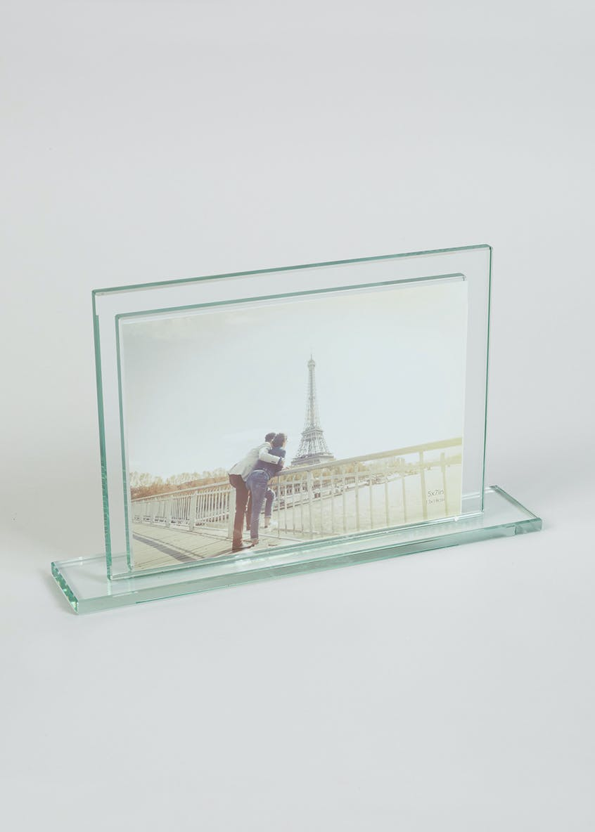 Glass Photo Frame (18cm x 13cm)
