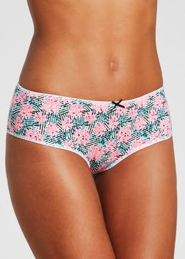 5 Pack Print Brazilian Knickers