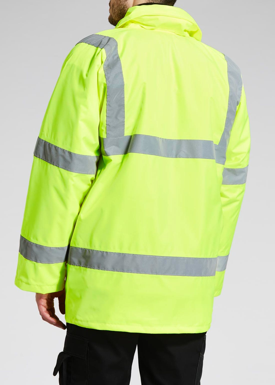 Yellow Hi-Vis Jacket