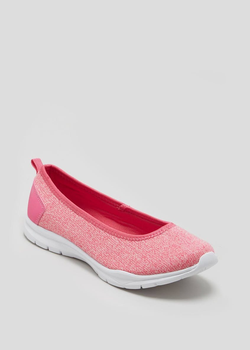 Memory Foam Ballet Pumps