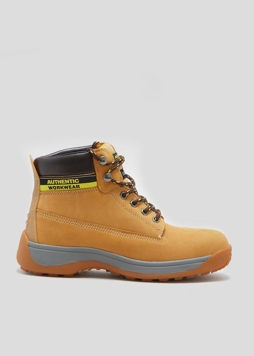 Nubuck Steel Toe Cap Safety Boots