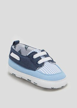 Boys Soft Sole Baby Boat Shoes (Newborn-18mths)