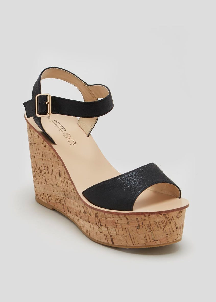 Wide Fit Cork Wedges